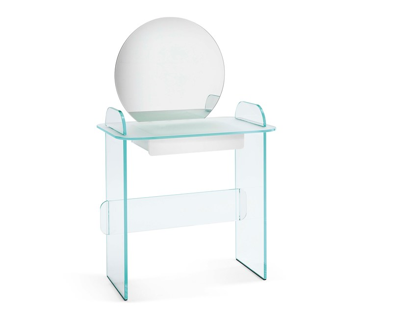 Opal glass dressing table OPALINA | Dressing table - T.D. Tonelli Design