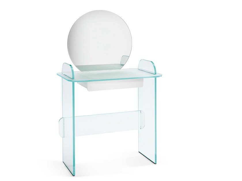Opal glass dressing table OPALINA | Dressing table by Tonelli Design