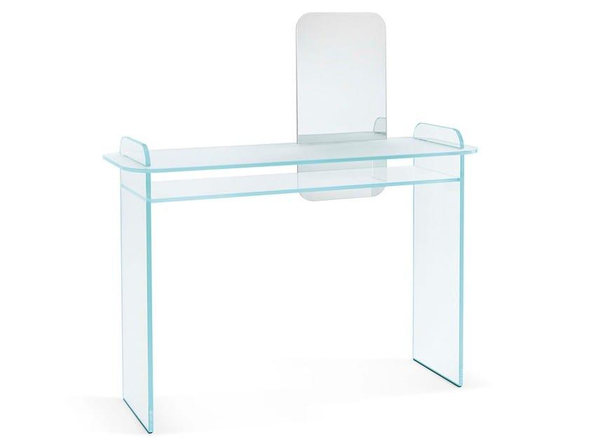 Scrittoio in vetro opale OPALINA | Scrittoio by Tonelli Design