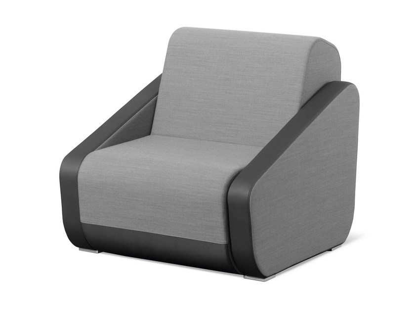 Upholstered armchair with armrests OPENPORT | Armchair by LD Seating