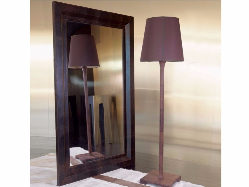 Freestanding rectangular framed mirror OPERA by Longhi