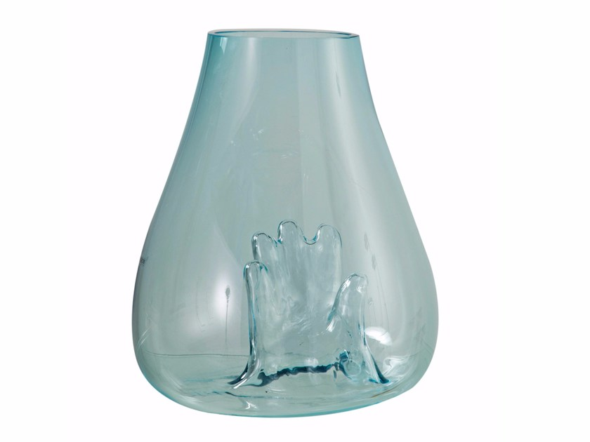 Blown glass vase OPHELIE by ROCHE BOBOIS