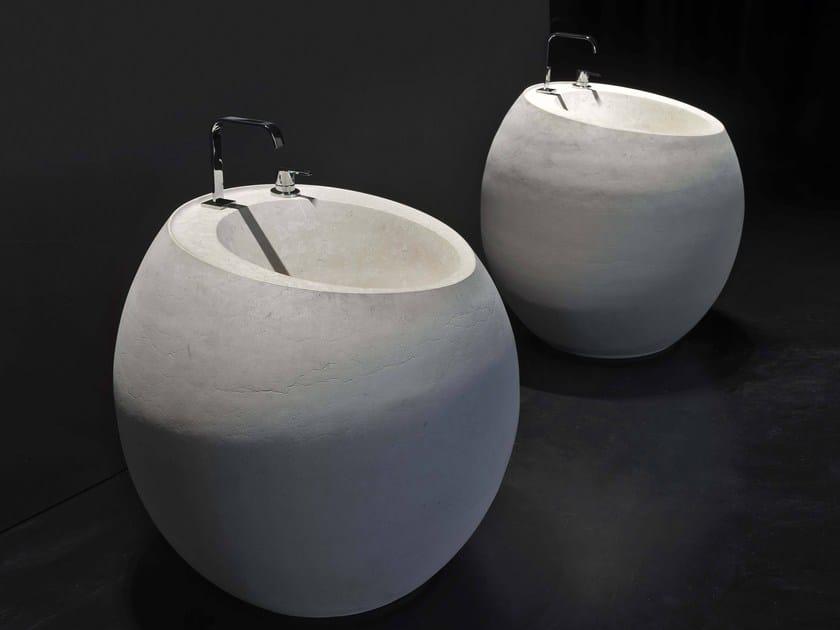Freestanding Moonstone washbasin OPIUM - Antonio Lupi Design®