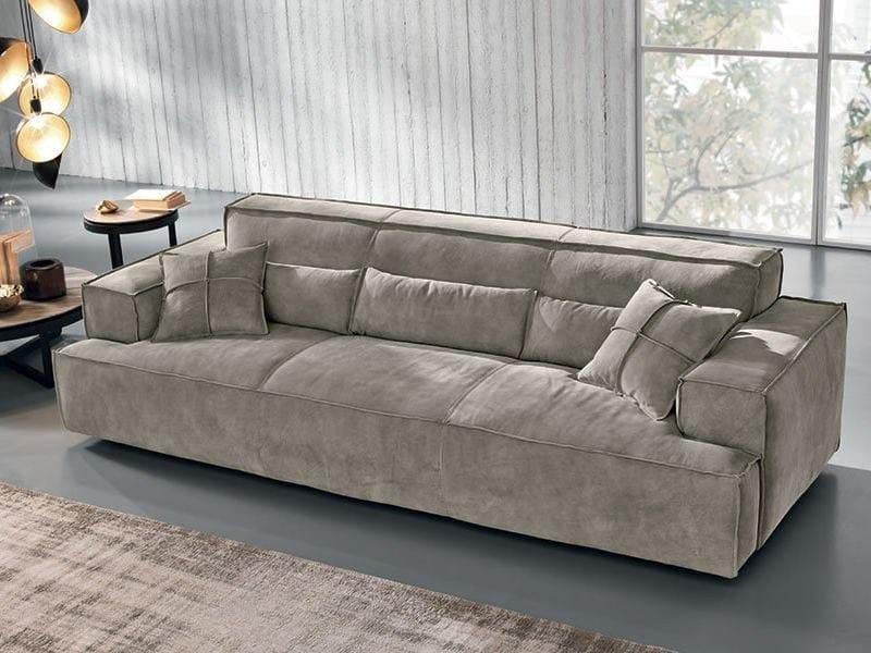 Divano in nabuk opla 39 max divani - Divano max mondo convenienza ...