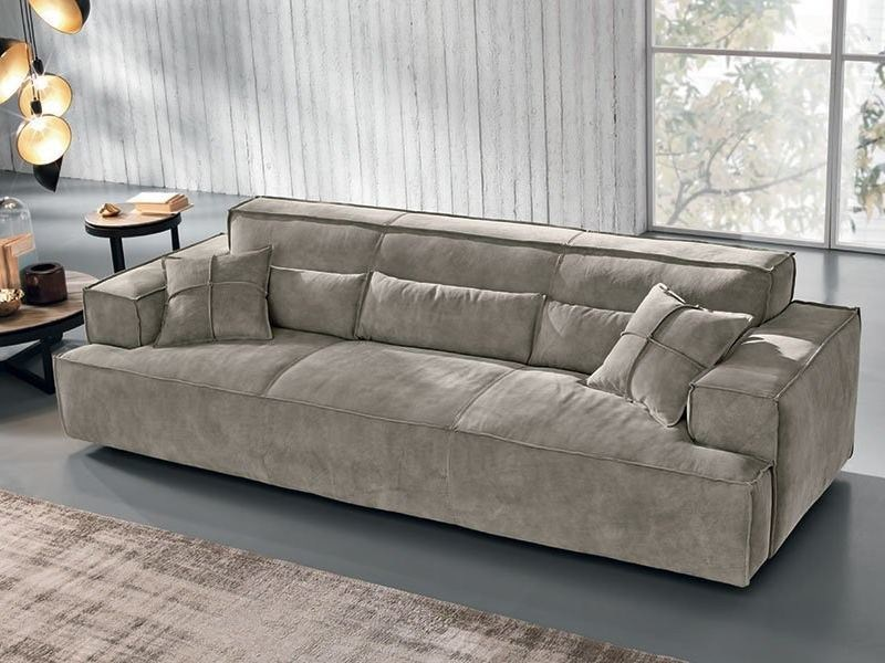 divano in nabuk opla 39 max divani