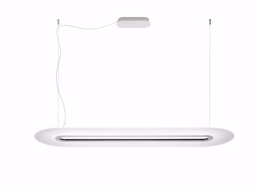 Lampada a sospensione a LED in PMMA OPTI - LINE_P by Linea Light Group
