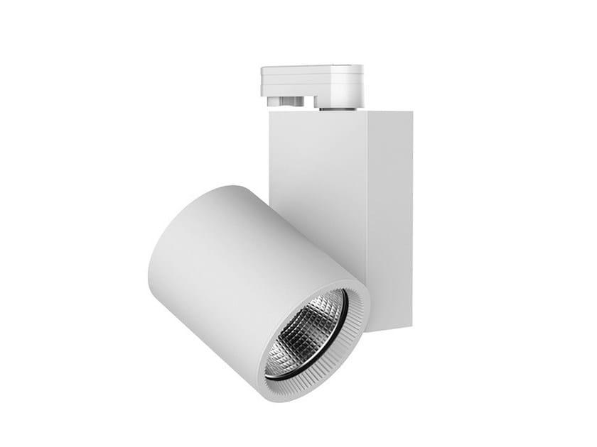 LED aluminium Track-Light OPTICAL BIG by LANZINI
