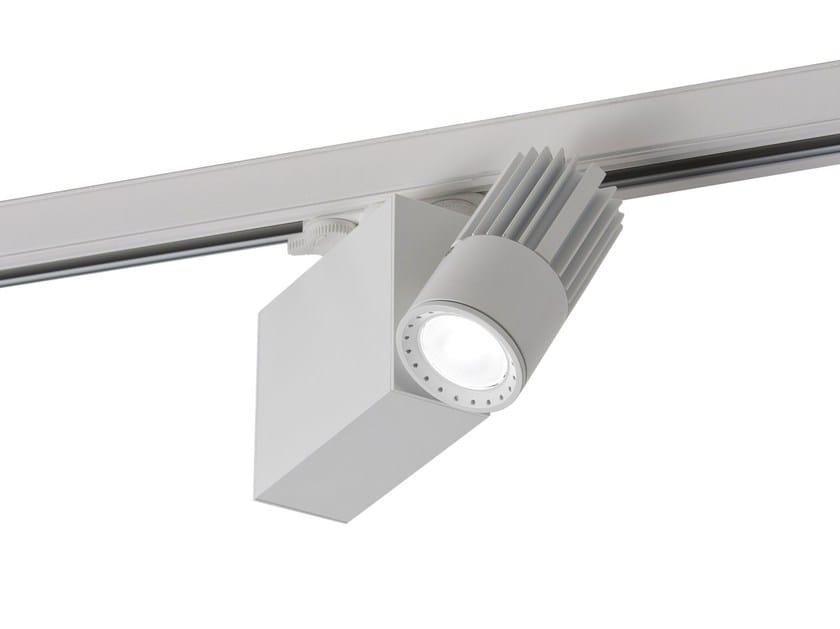 LED aluminium Track-Light OPTIK 60 by GLIP by S.I.L.E