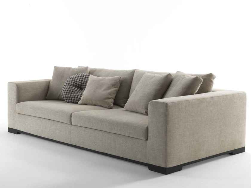 Contemporary style 4 seater upholstered fabric sofa with removable cover ORAZIO | 4 seater sofa - FRIGERIO POLTRONE E DIVANI
