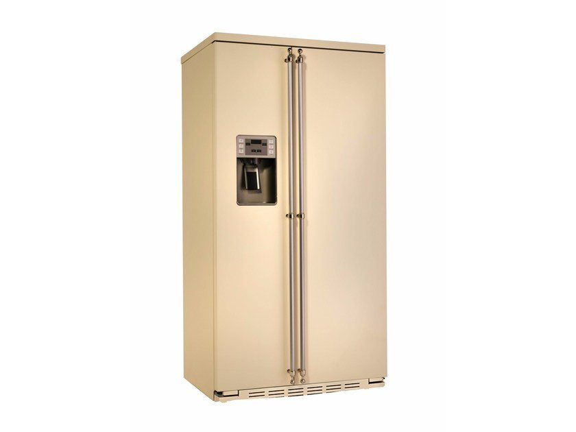 Frigorifero americano no frost con dispenser ghiaccio classe A+ ORE 24 CGF SS TI - mabe |Ge Partner Appliances