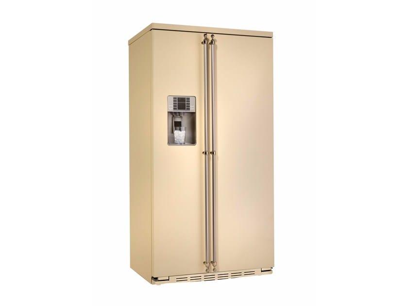 Frigorifero americano no frost con dispenser ghiaccio classe A+ ORE 24 VGF SS TI - mabe |Ge Partner Appliances