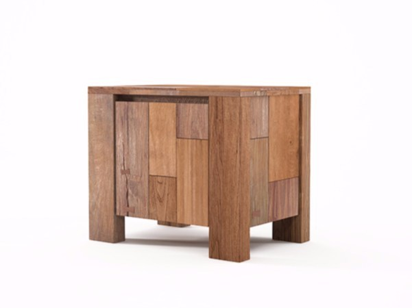 Wooden coffee table / bedside table ORGANIK | Coffee table by KARPENTER