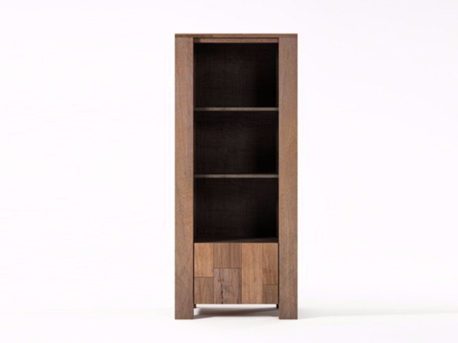 Wooden display cabinet ORGANIK | Display cabinet by KARPENTER