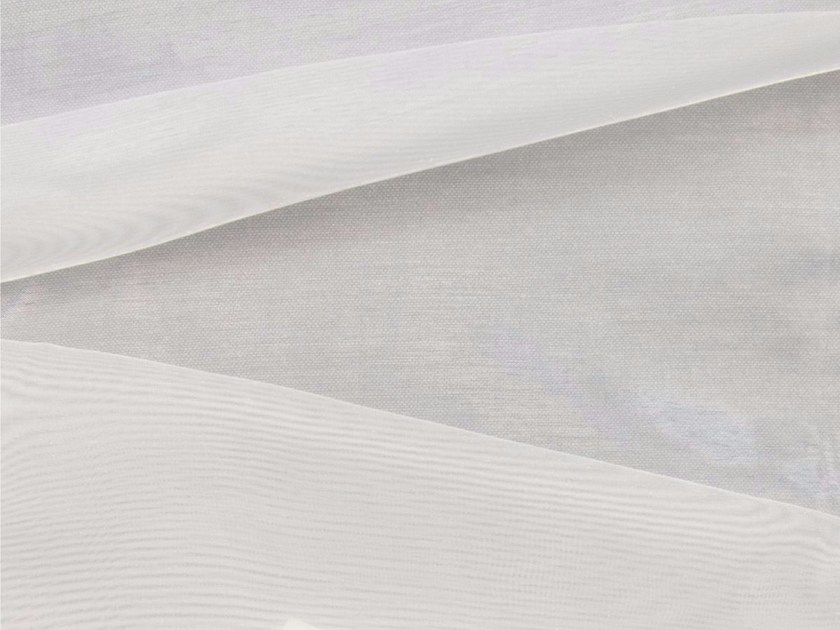 Solid-color fire retardant organza fabric for curtains ORGANZA FR - Gancedo