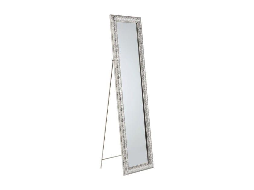 Freestanding rectangular framed mirror ORIENT 180 x 48 by KARE-DESIGN