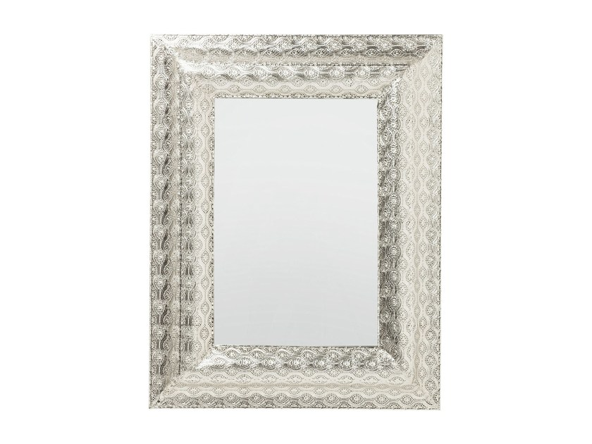 Rectangular wall-mounted framed mirror ORIENT 90 x 70 - KARE-DESIGN