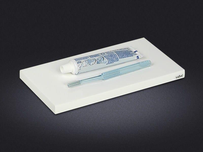 Rectangular synthetic material tray ORIENT | Rectangular tray - Vallvé Bathroom Boutique