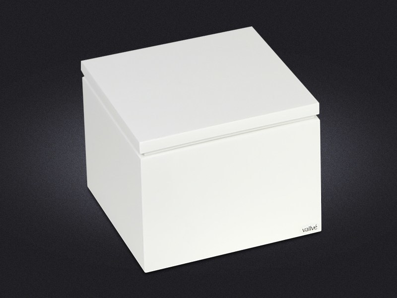 Contemporary style resin storage box ORIENT | Storage box - Vallvé Bathroom Boutique