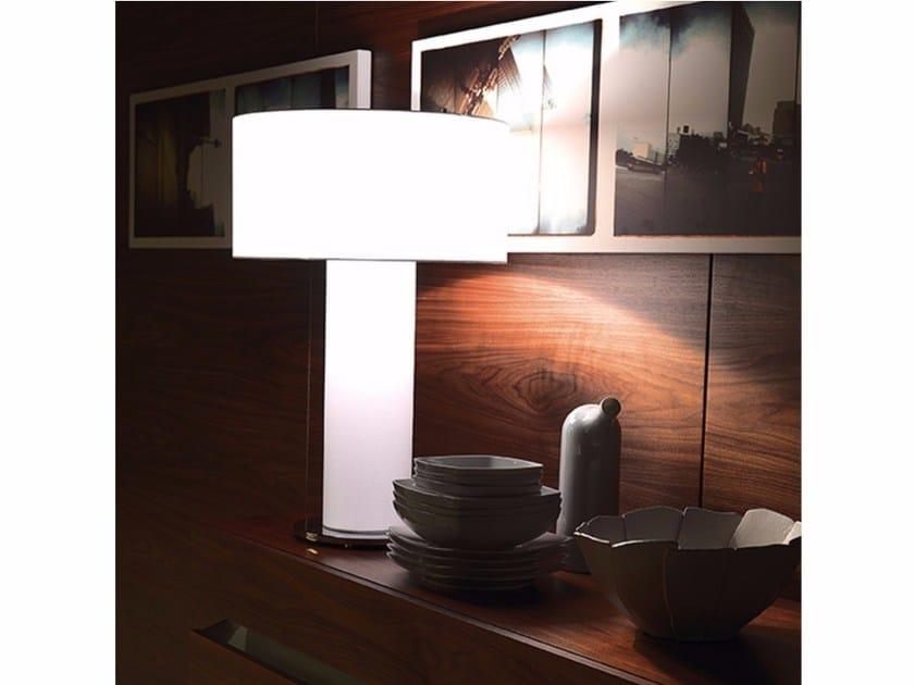 Fabric table lamp ORION - Cattelan Italia