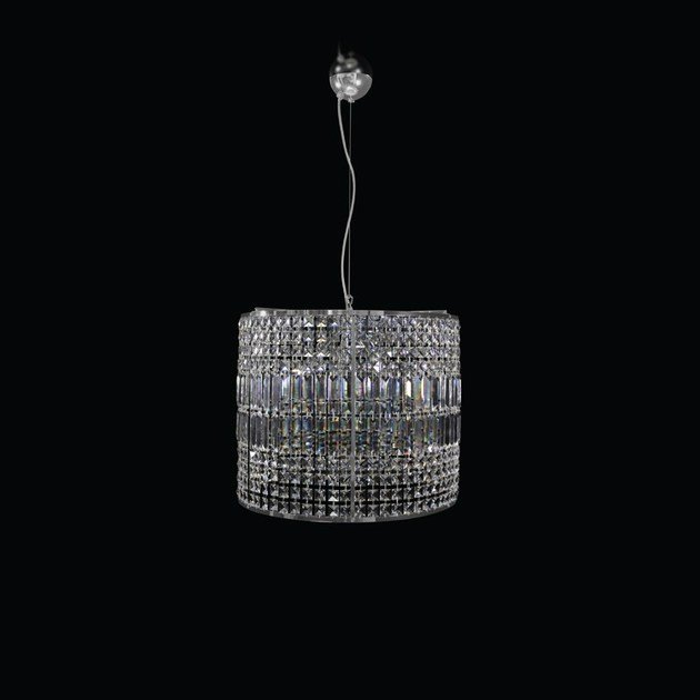 Contemporary style handmade crystal chandelier ORION | Crystal chandelier - MULTIFORME