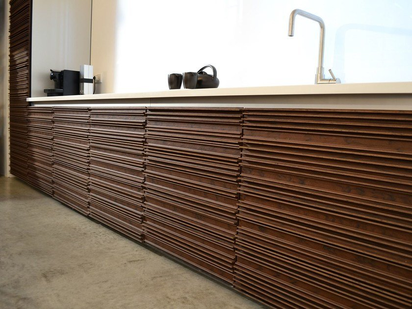 Bonded coatings for indoor walls ORNANS INDOOR by WOODN INDUSTRIES