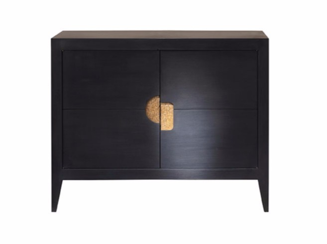 Wooden sideboard with doors ORO - SOFTHOUSE