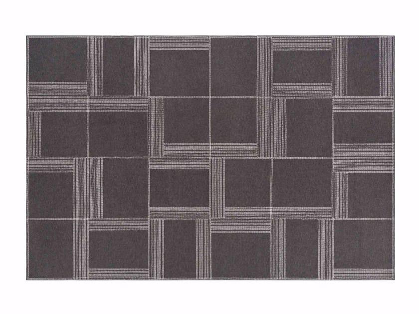 Rectangular felt rug ORYZA - GAN By Gandia Blasco