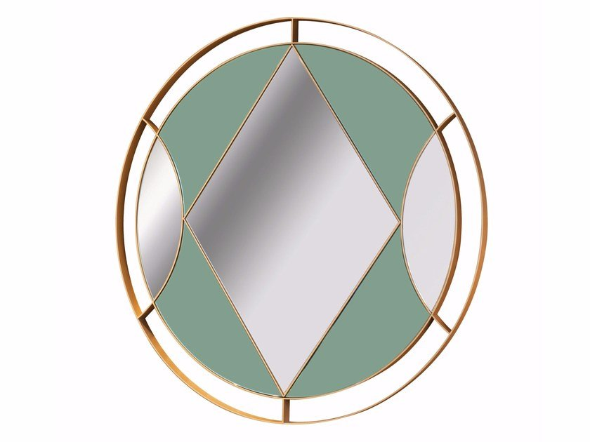 Round wall-mounted mirror OSANGE by ROCHE BOBOIS