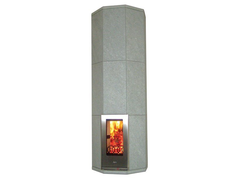 Wood-burning natural stone stove OTA3 | Natural stone stove - KarniaFire