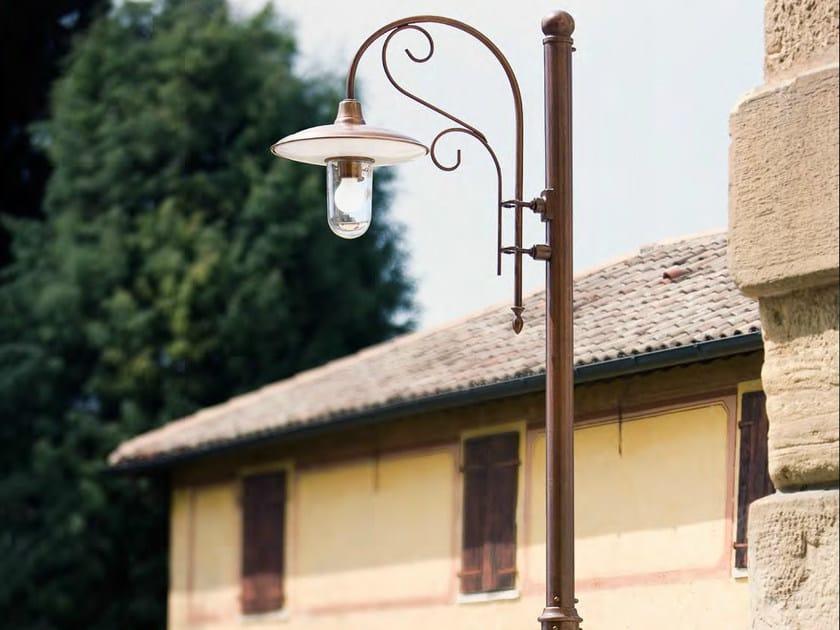 Lampioni da esterno in rame - Lampioni da giardino fotovoltaici ...