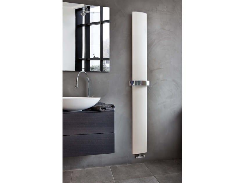 Wall-mounted aluminium towel warmer OTHELLO MONO - RIDEA