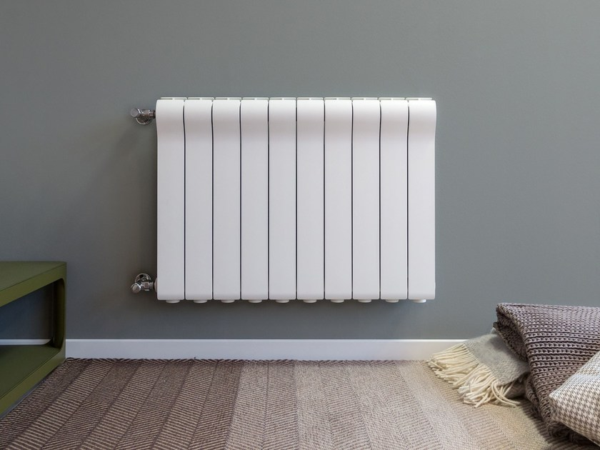 Wall-mounted die cast aluminium decorative radiator OTTIMO - Radiatori2000