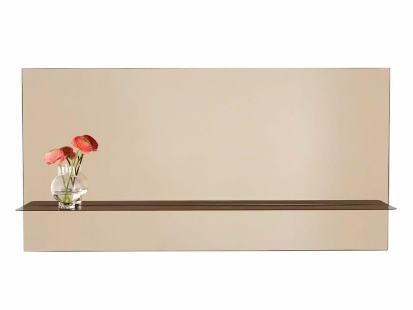 Rectangular wall-mounted mirror OTTO | Rectangular mirror by ASPLUND