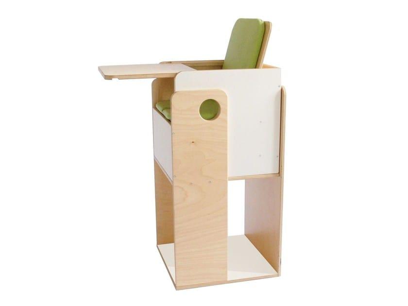 Birch high chair OUEAT - nuun kids design