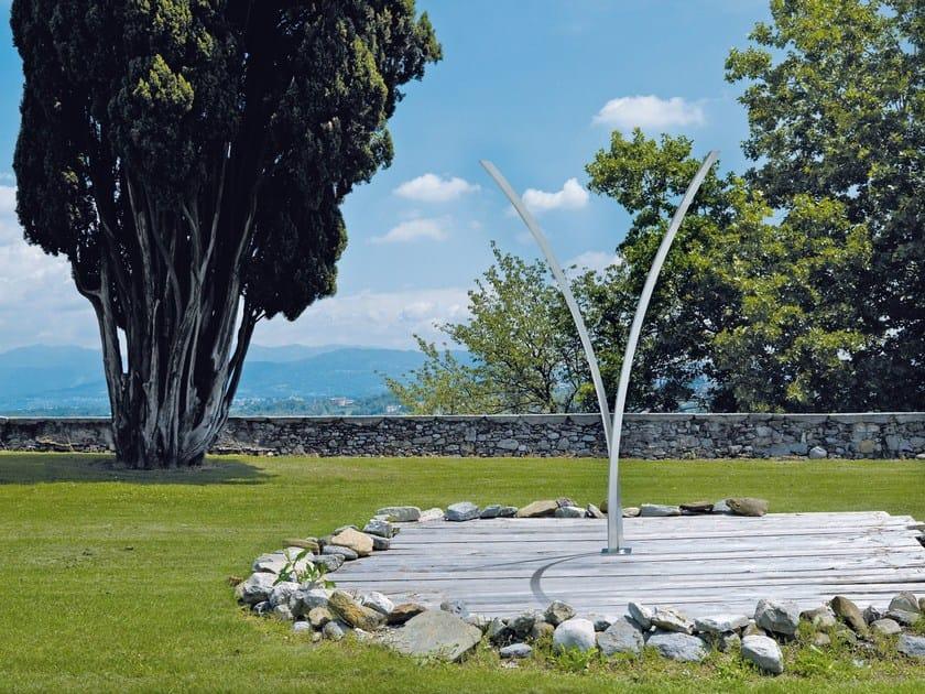 Stainless steel outdoor shower OUTDOOR   Stainless steel outdoor shower by NEWFORM