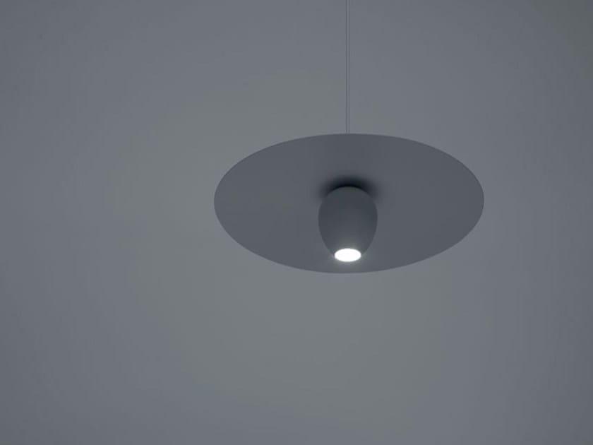 Metal pendant lamp OVONELPIATTO - DAVIDE GROPPI
