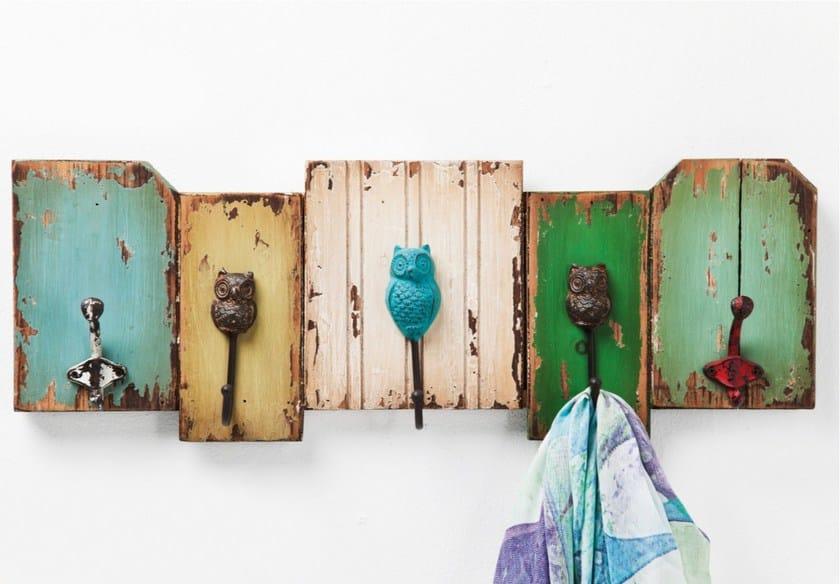 Wall-mounted MDF coat rack OWL - KARE-DESIGN