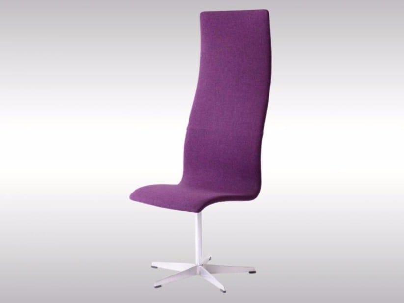 High-back fabric chair OXFORD CHAIR - Woka Lamps Vienna
