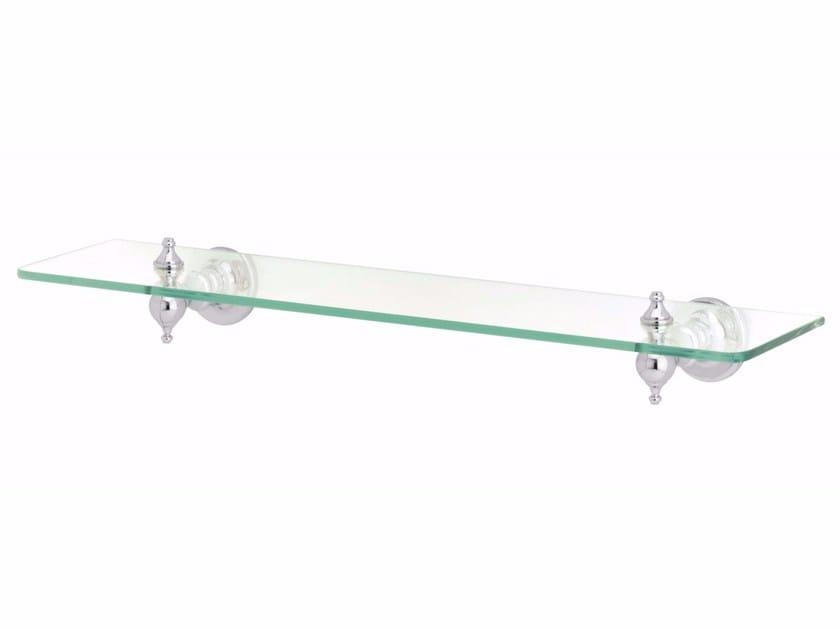 Glass bathroom wall shelf OXFORD | Glass bathroom wall shelf - GENTRY HOME