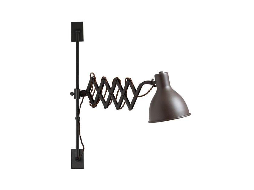 Adjustable wall lamp with swing arm OXFORD LIFT - luxcambra