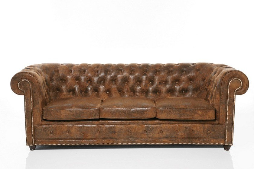 Oxford vintage 3 seater sofa by kare design for Oxford tufted sectional sofa