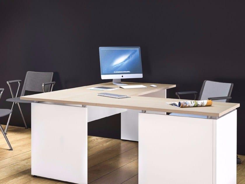 Executive desk with drawers OXI | Executive desk - Las Mobili