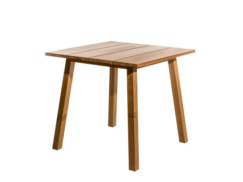 Square garden side table OXNÖ | Garden side table - Skargaarden