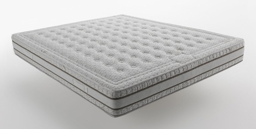 Anti-allergy anti-bacterial washable synthetic material mattress Orizzonti - Eco Memory by horm