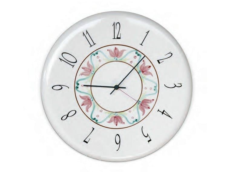 Wall-mounted ceramic clock Clock - Aldo Bernardi