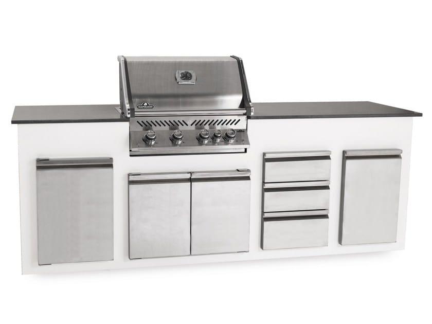 Cucina da esterno a gas con grill cucina da esterno - Cucina per esterno ...