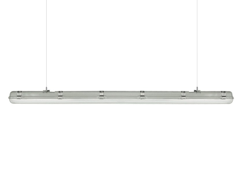 LED technopolymer pendant lamp P | Pendant lamp by LANZINI