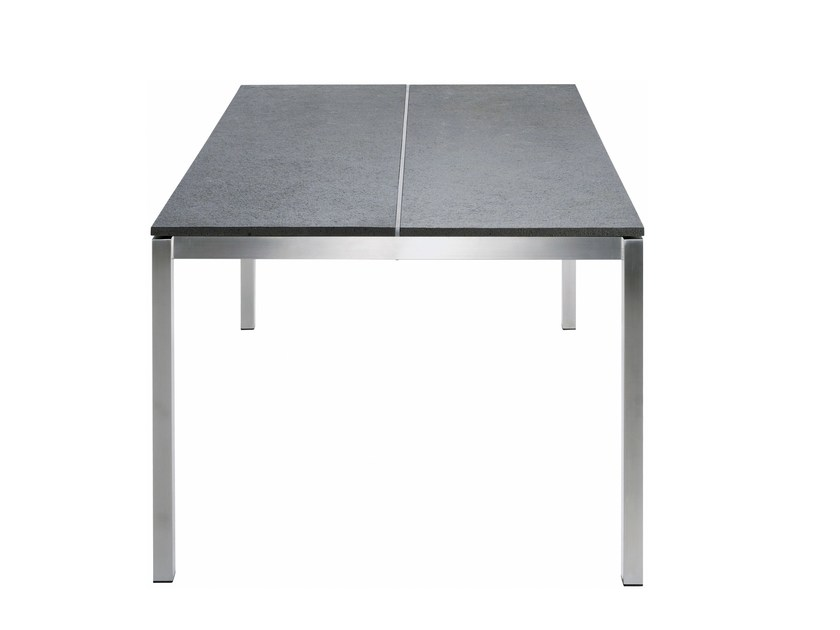 Tavolo da giardino rettangolare in ceramica P-SERIES | Tavolo rettangolare - solpuri