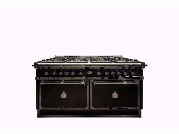 Cucina a libera installazione professionale P70 NERISSIMA - Officine ...