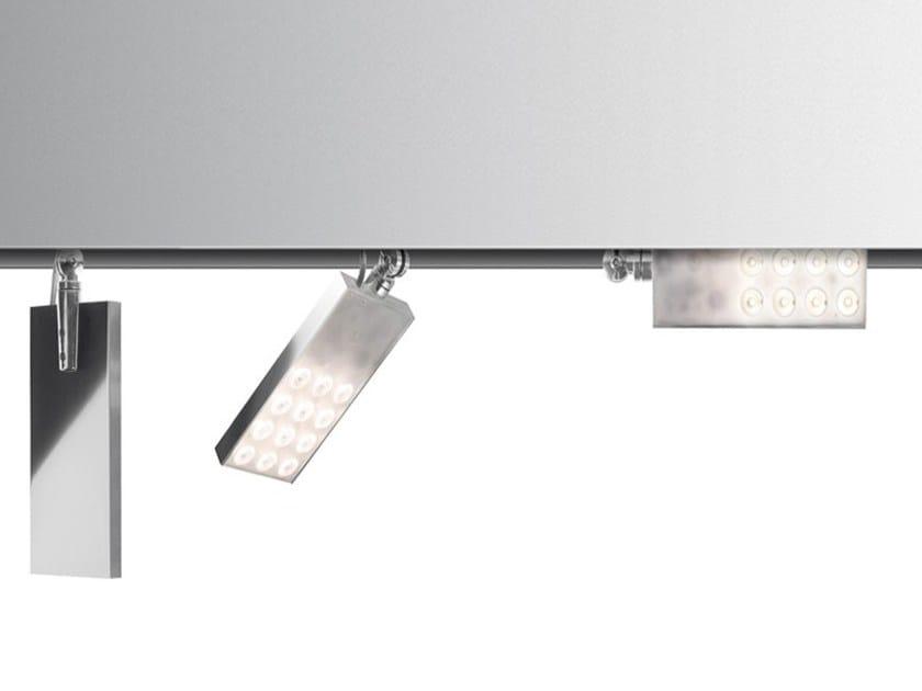 Proiettore a led a soffitto a testa mobile in alluminio PAD | Proiettore - Artemide